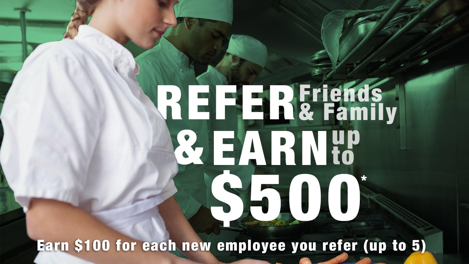snapchef employee referral program
