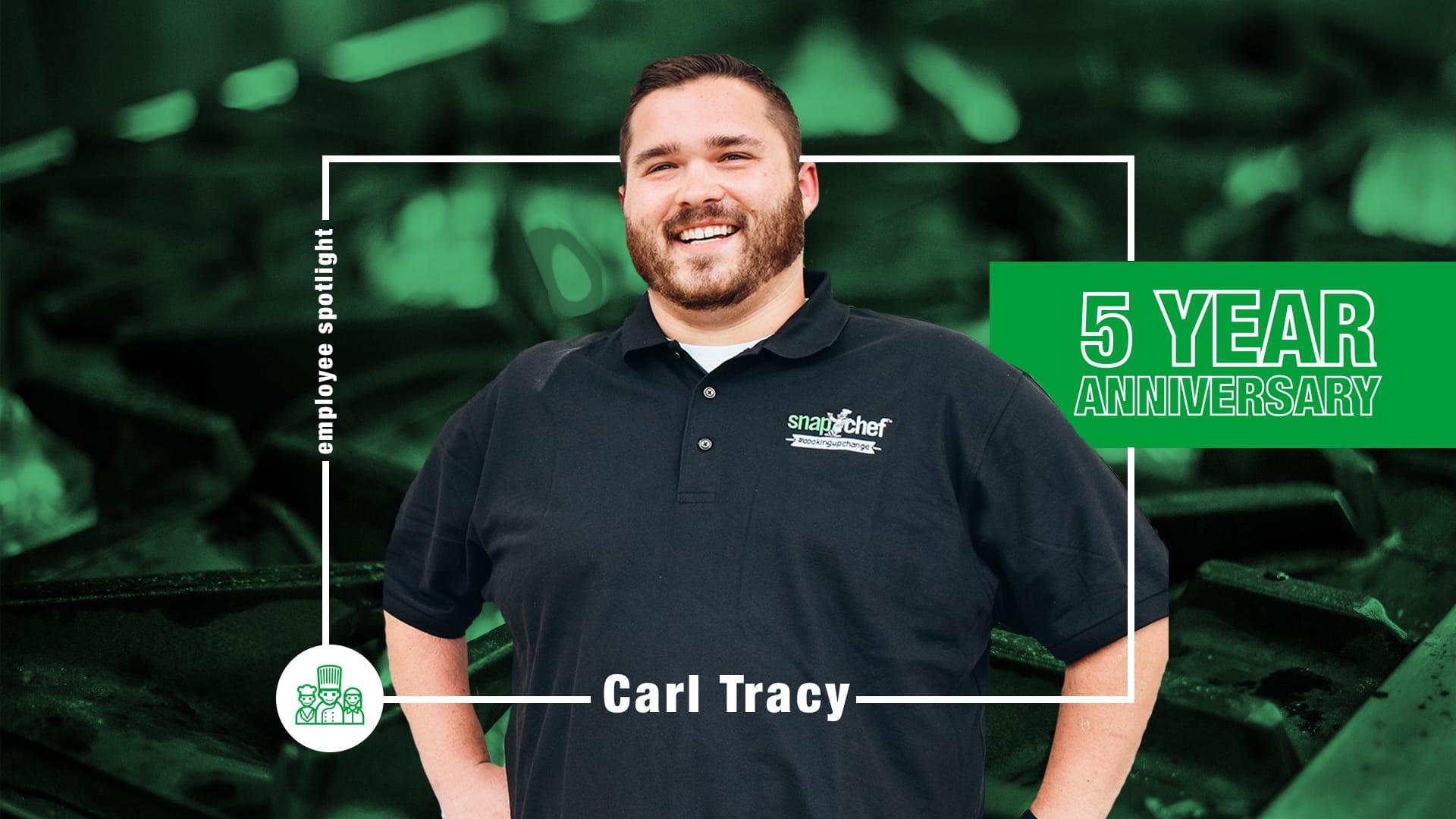 Snapchef Employee Spotlight - Carly Tracy
